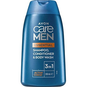 AVON care MEN Essentials 3-in-1 Shampoo, Spülung & Duschgel