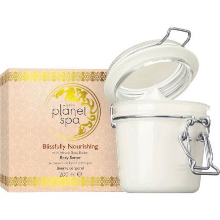 AVON planet spa Blissfully Nourishing Körperbutter in Geschenkbox