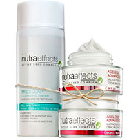 AVON nutra effects Anti-Aging-Set 3-teilig