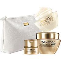 AVON ANEW Ultimate Systempflege-Set + Kosmetiktasche