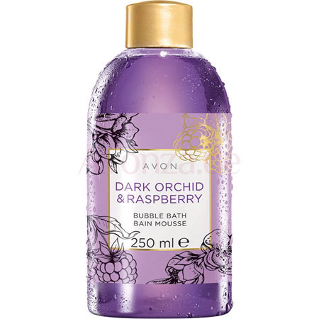 AVON BUBBLE BATH Schaumbad Dunkle Orchidee & Himbeere 250 ml