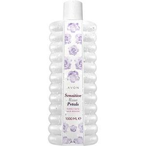 VON BUBBLE BATH Schaumbad Rose & Orchidee für empfindliche Haut 1 l