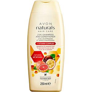 AVON naturals 2-in-1 Shampoo & Spülung mit Vitamin-Komplex