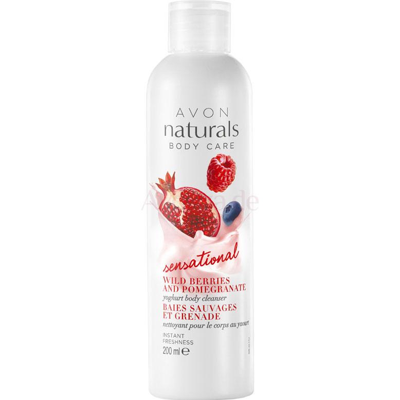 AVON naturals Joghurt Duschgel