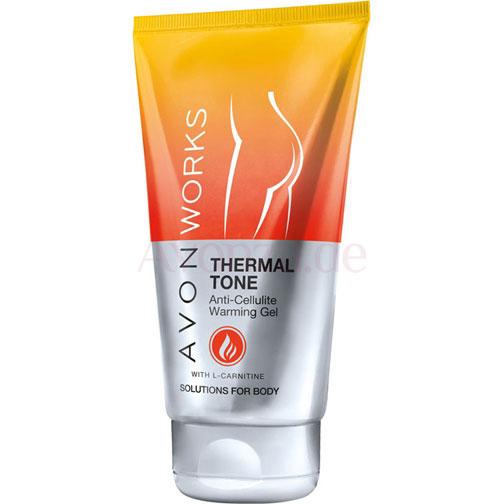 AVON WORKS Thermal Tone Anti-Cellulite-Gel