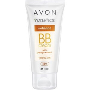 AVON nutra effects Radiance BB-Creme für ebenmäßigen Teint LSF 15