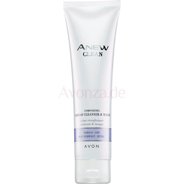 AVON ANEW Clean Beruhigende Reinigungscreme & Maske