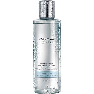 AVON ANEW Clean 3-in-1 Anti-Aging-Gesichtswasser
