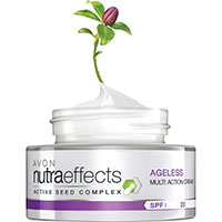 AVON nutra effects Ageless Anti-Aging Tagescreme LSF 20