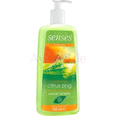 AVON senses Citrus Zing Duschgel 720 ml
