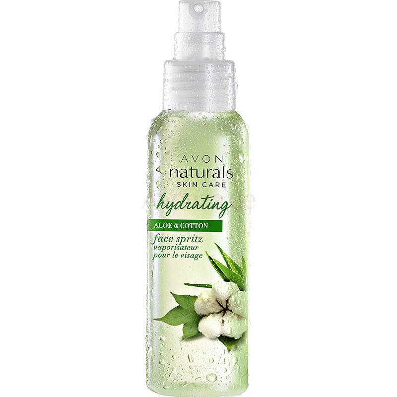 AVON naturals Aloe & Baumwolle Feuchtigkeitsspray für das Gesicht