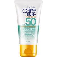 AVON sun+ Sonnenschutzlotion für empfindliche Haut LSF 50 50 ml