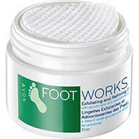 AVON FOOT WORKS Exfolierende & Hautverfeinernde Fußpeeling-Pads