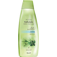 AVON naturals hair Teebaumöl & Minze Anti-Schuppen-Shampoo 700 ml