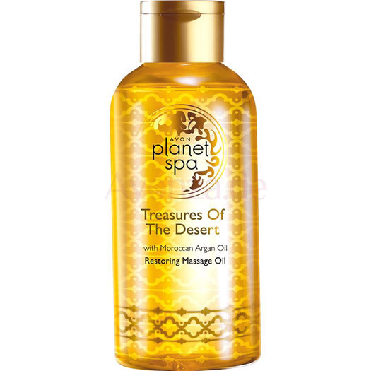 AVON planet spa Treasures of the Desert Massageöl