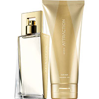 AVON Attraction Eau de Parfum + Körperlotion