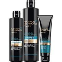 AVON Advance Techniques Marokkanisches Arganöl Haarpflege-Set 3-teilig