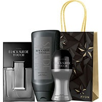 AVON Black Suede Touch Duftset 3-teilig