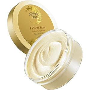 AVON planet spa Radiant Gold Körpercreme
