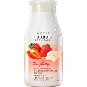 AVON naturals Erdbeere & weiße Schokolade Körperlotion