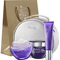 AVON ANEW Platinum Set 3-teilig + Geschenktasche