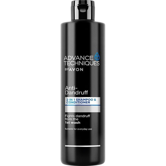 AVON Advance Techniques Anti-Schuppen 2-in-1 Shampoo & Spülung 400 ml