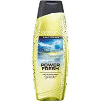 AVON senses Power Fresh 2-in-1 Shampoo & Duschgel 500 ml