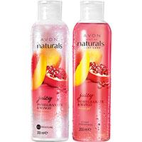 AVON naturals Granatapfel & Mango Duschgel + Körperlotion Set