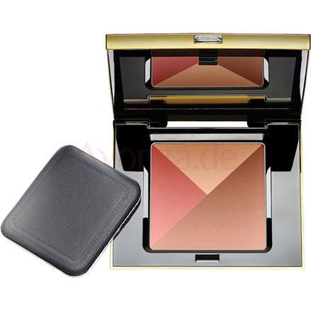 AVON LUXE 3-in-1 Bronzepuder-Palette mit Bräunungspuder, Highlighter & Rouge