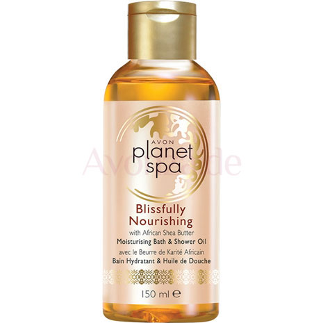 AVON planet spa Blissfully Nourishing Bade- & Duschöl mit Sheabutter
