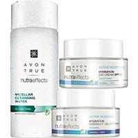 AVON nutra effects Hydration Pflege-Set 3-teilig