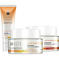 AVON nutra effects Radiance Plus-Angebot 3-teilig