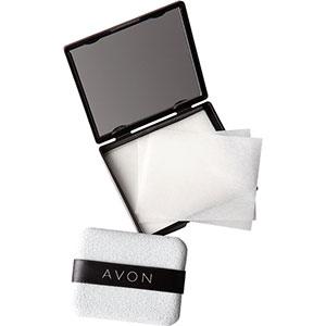 AVON Anti-Glanz-Papier & Kompaktspiegel