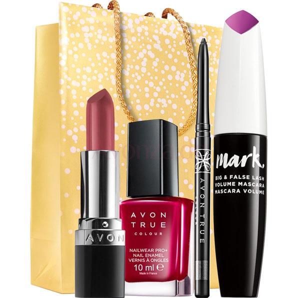 AVON Make-up Stars Set 4-teilig + Geschenktasche