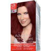 AVON Advance Techniques PROFESSIONAL HAIR COLOUR Haar-Coloration - Rot