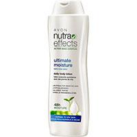 AVON nutra effects ultimate moisture Körperlotion für jeden Tag 400 ml