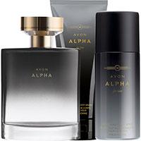 AVON Alpha Duft-Set 3-teilig für Ihn