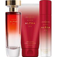 AVON Alpha Duft-Set 3-teilig für Sie