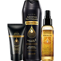 AVON Advance Techniques Supreme Oils Set 3-teilig